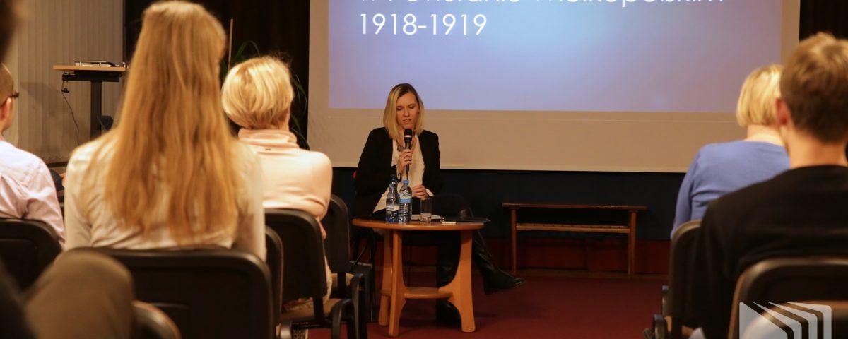 Wykład Anny Barłóg-Mitmańskiej