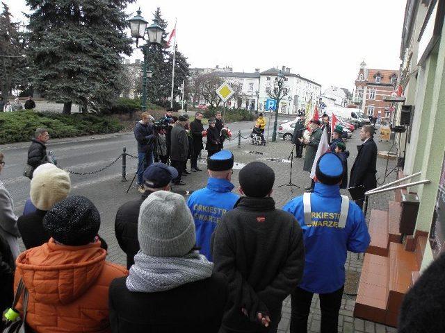 Uroczystość w Swarzędzu Fot. H. Staniewska