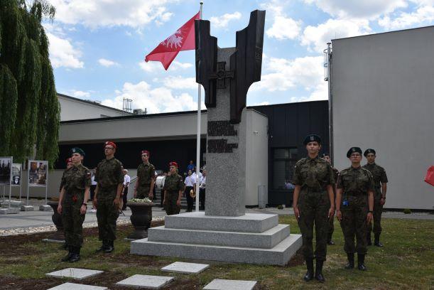 Pomnik powstańczy w Opalenicy 27 czerwca 2021 bis